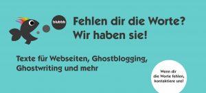 Texte, Blog, Bücher, Ghostwriting und mehr