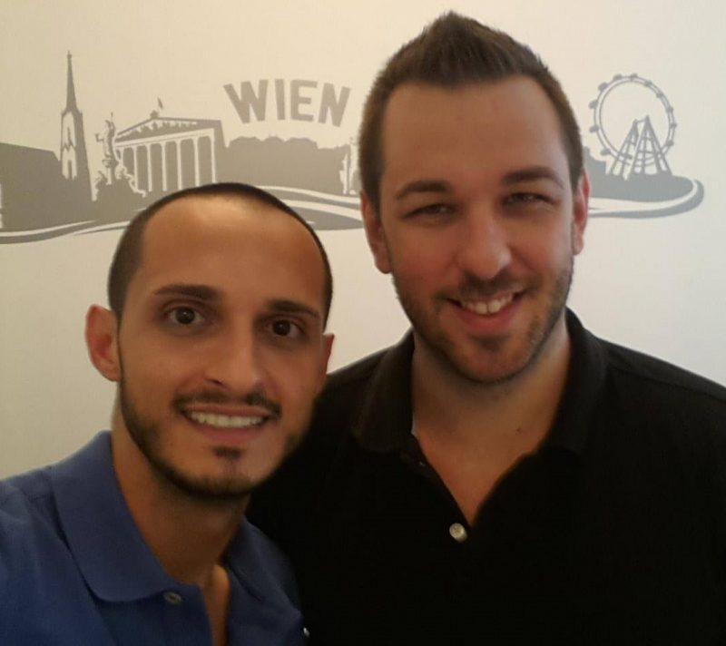 Armin Innerhofer und Sanijel Jovanovic (c) Sprachfactory